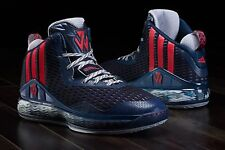 ADIDAS J WALL 1 DC Blue sz 10.5 Basketball Shoes John WALL 1 S84019