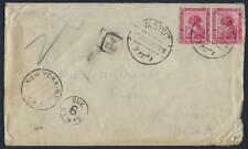 EGYPT US 1921 ASYUT TO WASHINGTON DC T POSTAGE DUE 6 CENTS IN NY