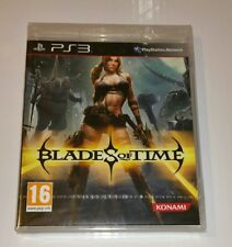 Blades of Time X Remake PS3 New Sealed UK PAL Sony PlayStation 3 Blade anime