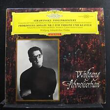 Stravinsky, Prokofieff, Schneiderhan - Violinkonzert in D LP Mint- 138 794 1st
