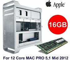 16GB DDR3 PC3L-12800R memory for Apple Mac Pro 5,1 Mid 2012 3.06GHz 12-Core