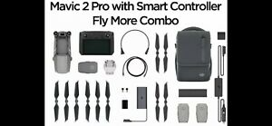 NEW DJI Mavic 2 Pro DJI With Smart Controller with Fly More Combo Kit