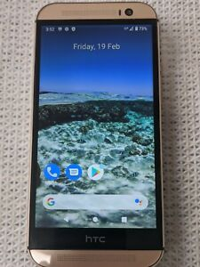 HTC One M8 - 32GB - Amber Gold Smartphone Unlocked and in Very good condition