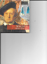 Wagner - Classic Composers  Master Of The Epic (CD & Booklet) New & Sealed