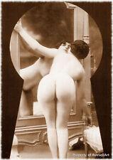 Vintage 23 Retro Erotic Nude female sepia A4 A3 A2 PHOTO EDIT REPRINT RussellArt