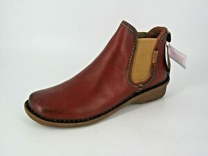 PIKOLINOS INTERCONTINENTAL ANKLE BOOTS LOW WEDGE UK 7 EU 40 NH095 BB 01