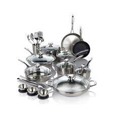 Wolfgang Puck Bistro Elite 27 piece Stainless Steel Favorites Cookware Set