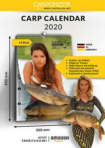 Carponizer Karpfenkalender 2020 - Angelkalender - carp fishing calendar