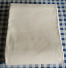 Unused Ivory Vintage French, Metis Linen Sheet, Bedding Bed Cover