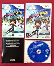 Family Ski - NINTENDO Wii - USADO - MUY BUEN ESTADO