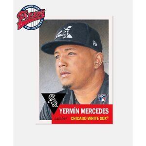 Topps MLB® Living Set Card #412 - Yermin Mercedes RC White Sox Presale