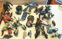Lot 13 Vintage Transformer Figures Pre-Owned Incomplete AS IS