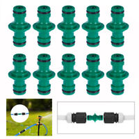 """10Pcs 1/2"""" Water Hose Pipe Connector Quick Disconnect Garden Adapter Tap Joiner"""