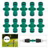 "10Pcs 1/2"" Water Hose Pipe Connector Quick Disconnect Garden Adapter Tap Joiner"