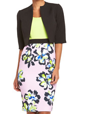 BNWT VERY BLACK  FLORAL PENCIL DRESS & JACKET SIZE 20 WEDDING MOTHER  BRIDE