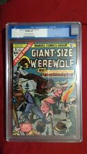 Giant-Size Werewolf By Night #3 CGC 9.0 Cream to OW Pages Marvel Bronze Age