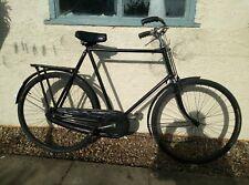 More details for vintage bsa gents roadster bicycle 26 inch frame 28