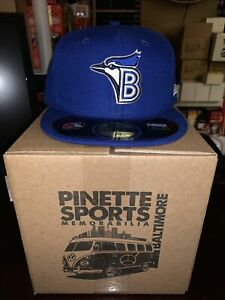 Bluefield Blue Jays MiLB New Era Diamond 59Fifty Cap Hat Mens Size 7 3/8 Toronto
