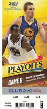 2014 GOLDEN STATE WARRIORS VS LA CLIPPERS PLAYOFFS GAME #4 TICKET STUB DAVID LEE