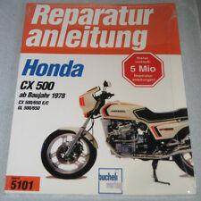 Repair Manual Honda Cx 500/650 And Gl 500/650 from Year 1978
