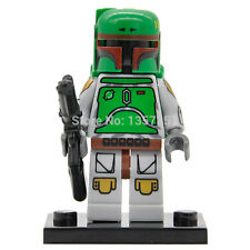 Star Wars Personalizado Mini Figuras-Boba Fett rifle bláster-Minifiguras Lego se ajusta