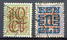 Nederland  132 - 133 gebruikt (1)