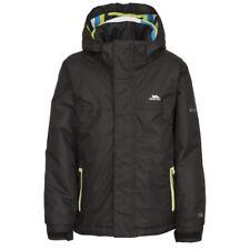 Trespass Boys Clark Jacket, Black, Size 9/Size 10
