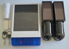 Solar Powered Wireless GSM Alarm.Perimeter Intruder Alarm.Home,Stable,Farm.