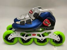 Inline Speed Skate Trurev Smoke Em Size Us 4