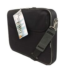 "15.6"" nero Borsa per Laptop Notebook Cover Custodia Portatile 2 scomparti Urban-FACTORY"