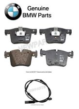 For BMW F25 F26 X3 X4 2011-2016 Front Brake Pad Set & Front Sensor Genuine