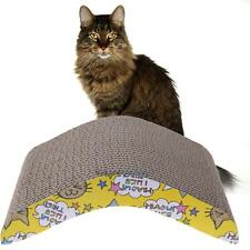 Pet Cat V-Shaped Scratching Corrugated Board Scratcher Post Pole Bed Pad Mat Toy