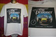 THE PRISONER - KAR 120C CLASSIC CAR ART PRINT T SHIRT- WHITE- EXTRA  LARGE