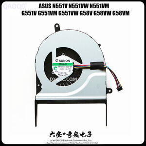 ASUS G551V G551VM G551VW G58V G58VM G58VW CPU Cooling Fan
