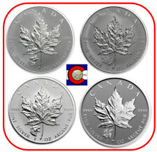 2016 2017 Canada Wolf Grizzly Cougar Moose Privy Maple Leaf Silver Coin Capsules