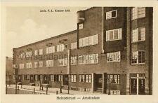 Carte postale Amsterdam heinzestraat Architect p. L. Kramer de 1923