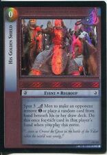 Lord Of The Rings Foil CCG Card RotK 7.C237 His Golden Shield