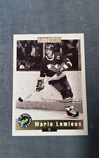 Mario Lemieux 1992 classic flash back card