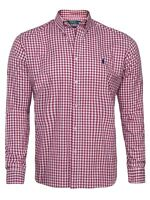 RALPH LAUREN MEN SHIRT ON SALE NEW POLOSHIRT SLIM FIT CHECKED SIZES: S/M/L/XL