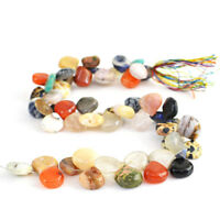 250.00 Cts / 10 Inches Natural Drilled Multicolor Multi Gemstone Beads Strand