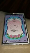 Favorite Wedding Songs Vol. 7  RARE Karaoke Cassette CS Sing Along Tracks New