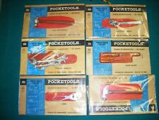 Marx pocket tools Lot Of 6