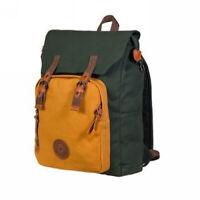 Hiking satchel school travel canvas Backpacks bag Vintage rucksack Red boy girl