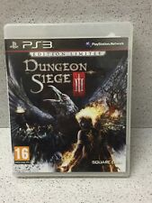 JEUX PS3 DUNGEON SIEGE III EDITION LIMITEE SANS NOTICE PLAYSTATION