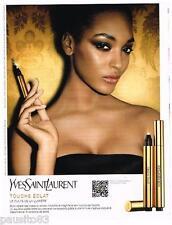 PUBLICITE ADVERTISING 105  2011   YVES SAINT LAURENT  maquillage TOUCHE ECLAT