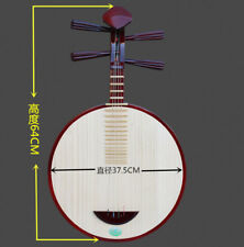Chinese Moon Lute Banjo Musical Instrument YHardwooden ueqin - Chamagudao #3728