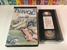 * Havoc IV Motor Sports Documentary VHS 1986 Motorbikes Race Cars Power Boats