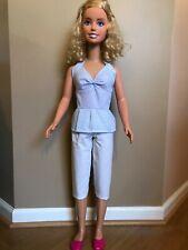 My size barbie clothes -36 inch- summer capris & halter top set