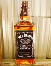 "Jack Daniels Tennessee Whiskey Old No 7 Large 30.5"" Metal Aluminum Sign Bar New"