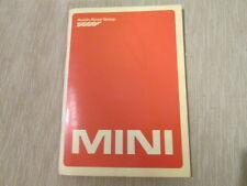 Libretto di uso e manutenzione AUSTIN ROVER MINI 3° in italiano 1982 PDF